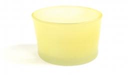 Yellow Glass Votive