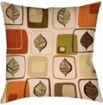 Deco Leaf Pillow