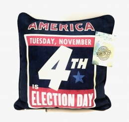 America Election Day Pillow