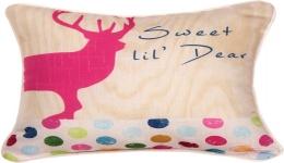 Pop Art Deer Pillow