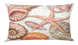 Shells By The Sea Pillow