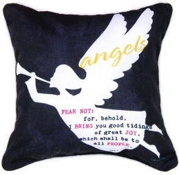 O'Holy Night Angels Pillow