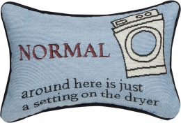 Normal is Just A Setting Pillow 8x12