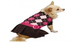 Argyle Prep Sweater Pink