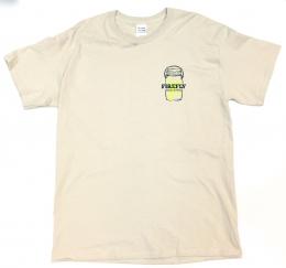 Logo & Line Sand Tee - FF