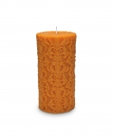 Paramount Medium Pillar Candle Orange
