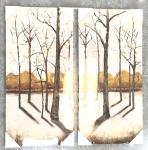Winter Trees Print Set