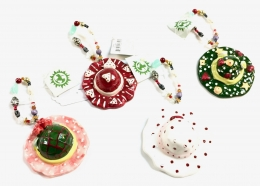 Playful Clay Collection - Set/4 Christmas