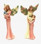 Angel Holding Child Figurine 9