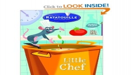 Ratatouille Little Chef Coloring Book
