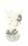 Glass Candle Holder 3x7